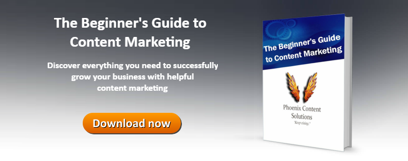 Download the beginner's guide to content marketing