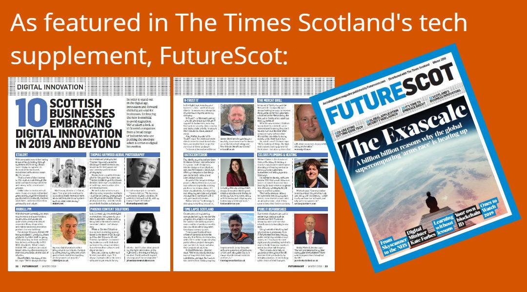 Future Scot feature