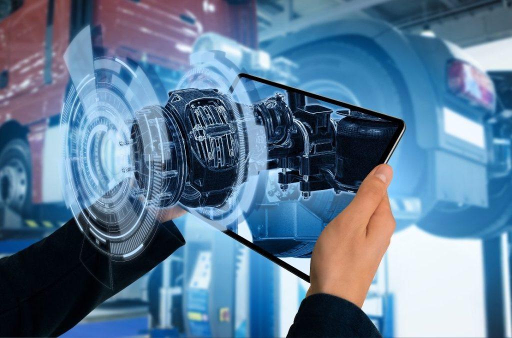 AR/VR solution on tablet